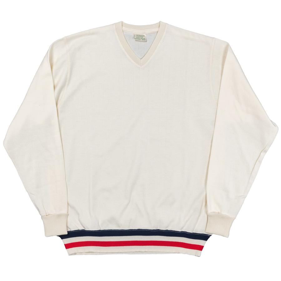 FC Knit V-Neck White