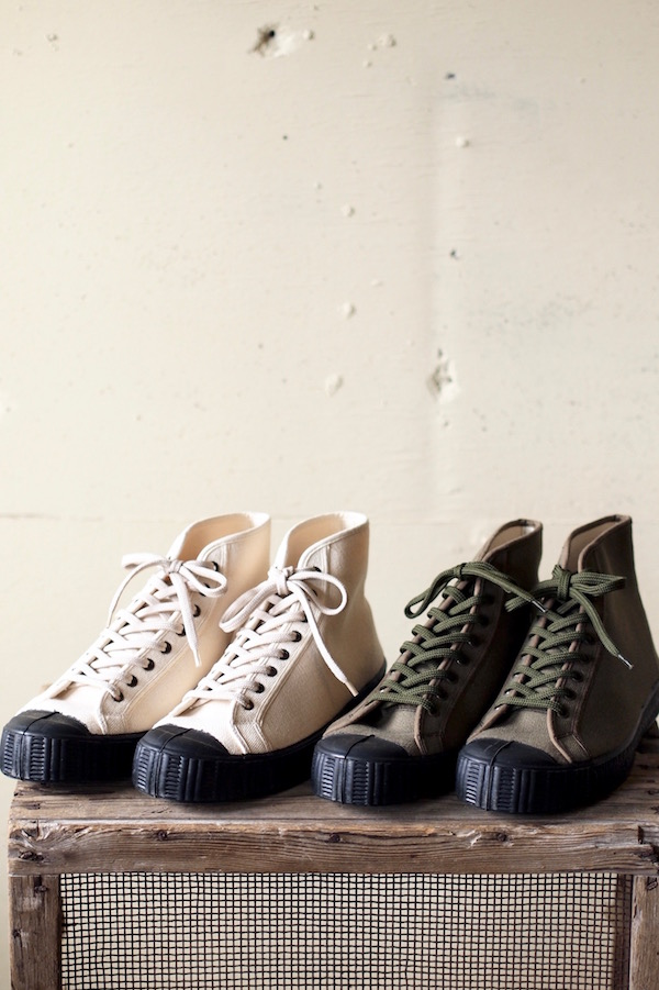 FERN Sneaker Army Model Heavy Canvas-1