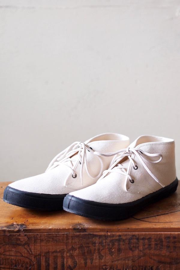 FERN Sneaker Chukka Model HC, Off White-1