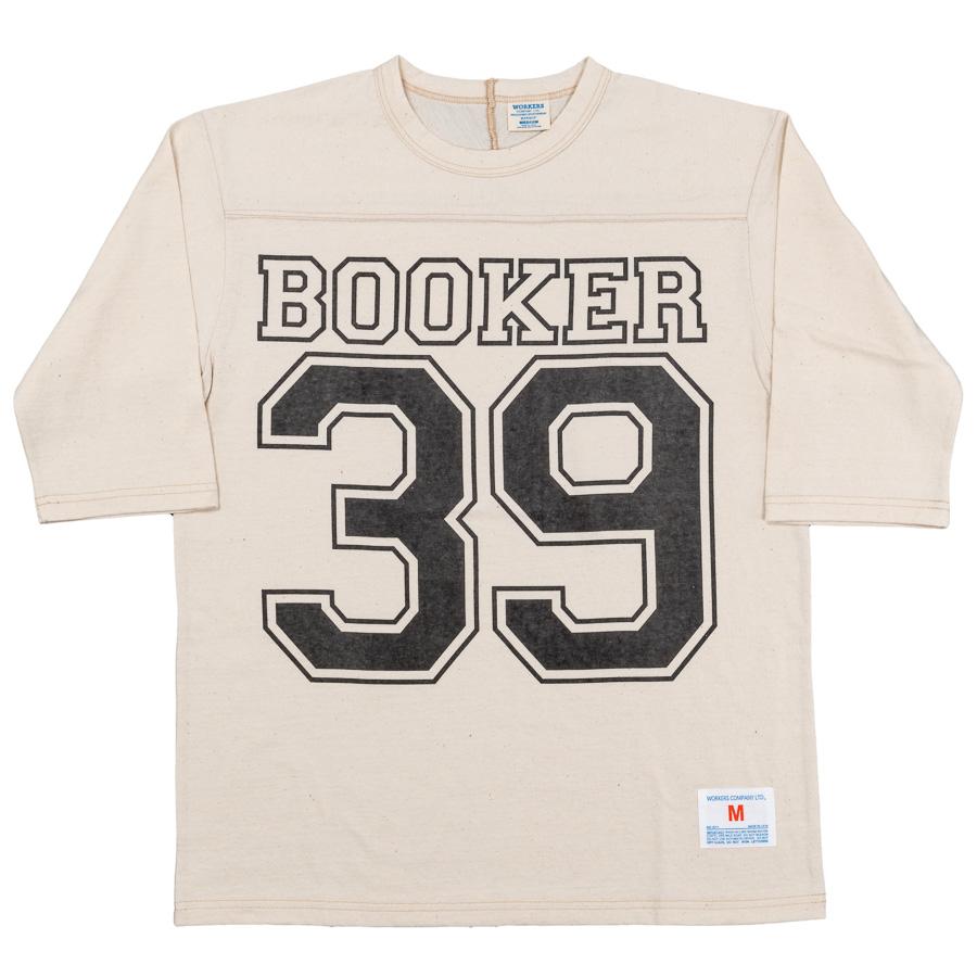 Football-Tee Booker 39 Oatmeal