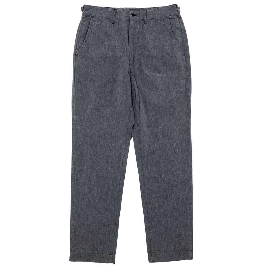 FWP Trousers Black Chambray