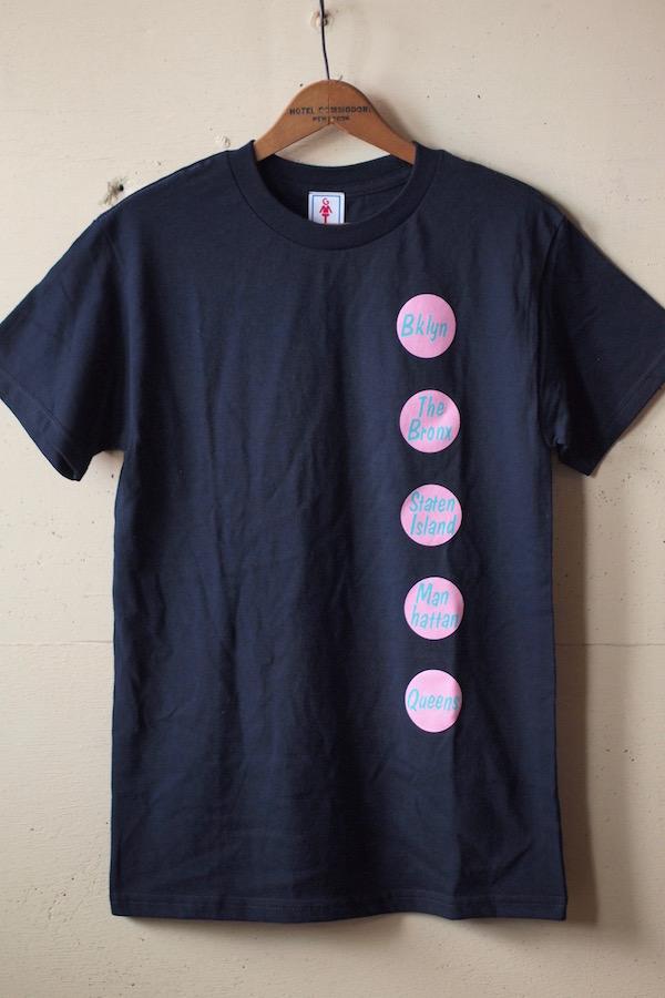 GMT (General Mean T-Shirts) Five Borough Navy-1