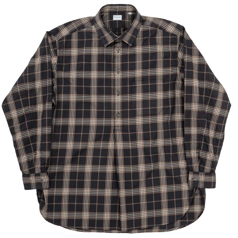 Grandpa Shirt Black Check