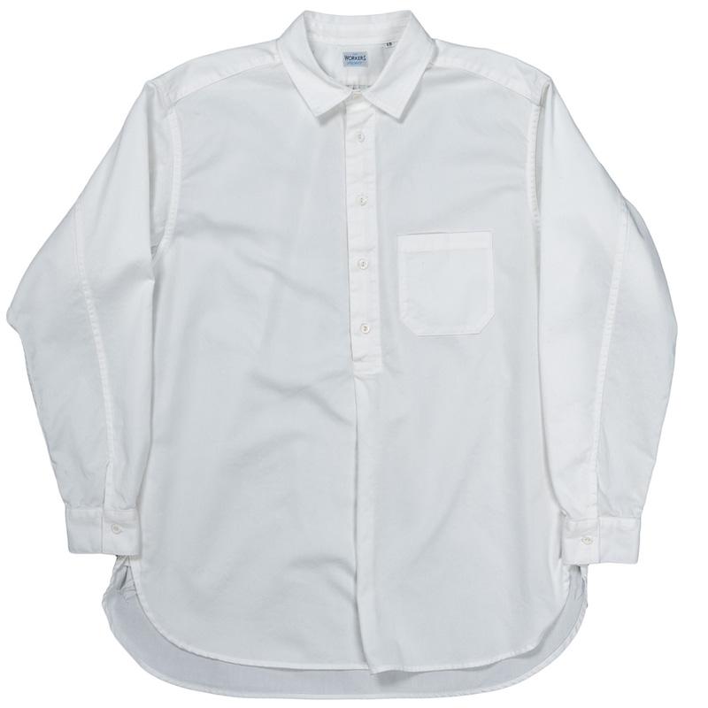 Grandpa Shirt White Twill