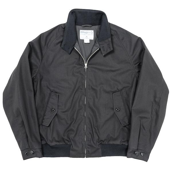 Harrington JKT Cotton Poly Gabardine Black