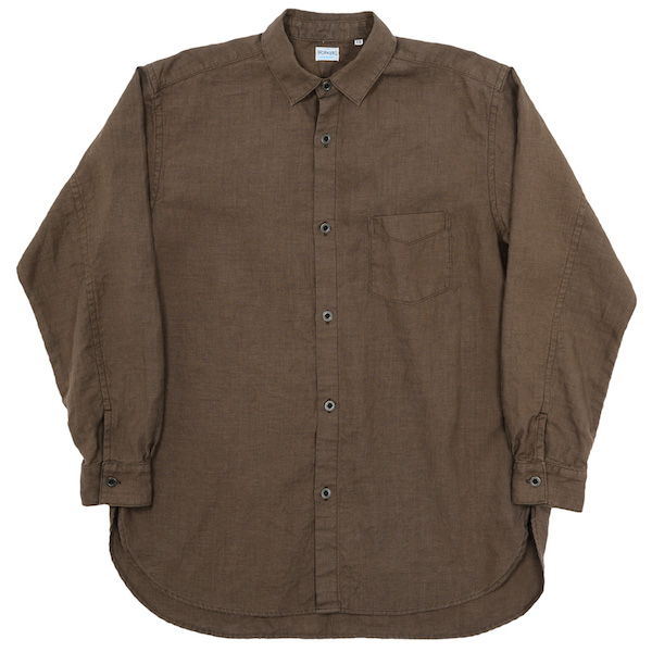 Linen Shirt Brown