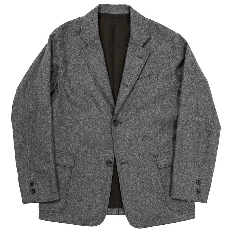 Maple Leaf JKT Grey Flannel