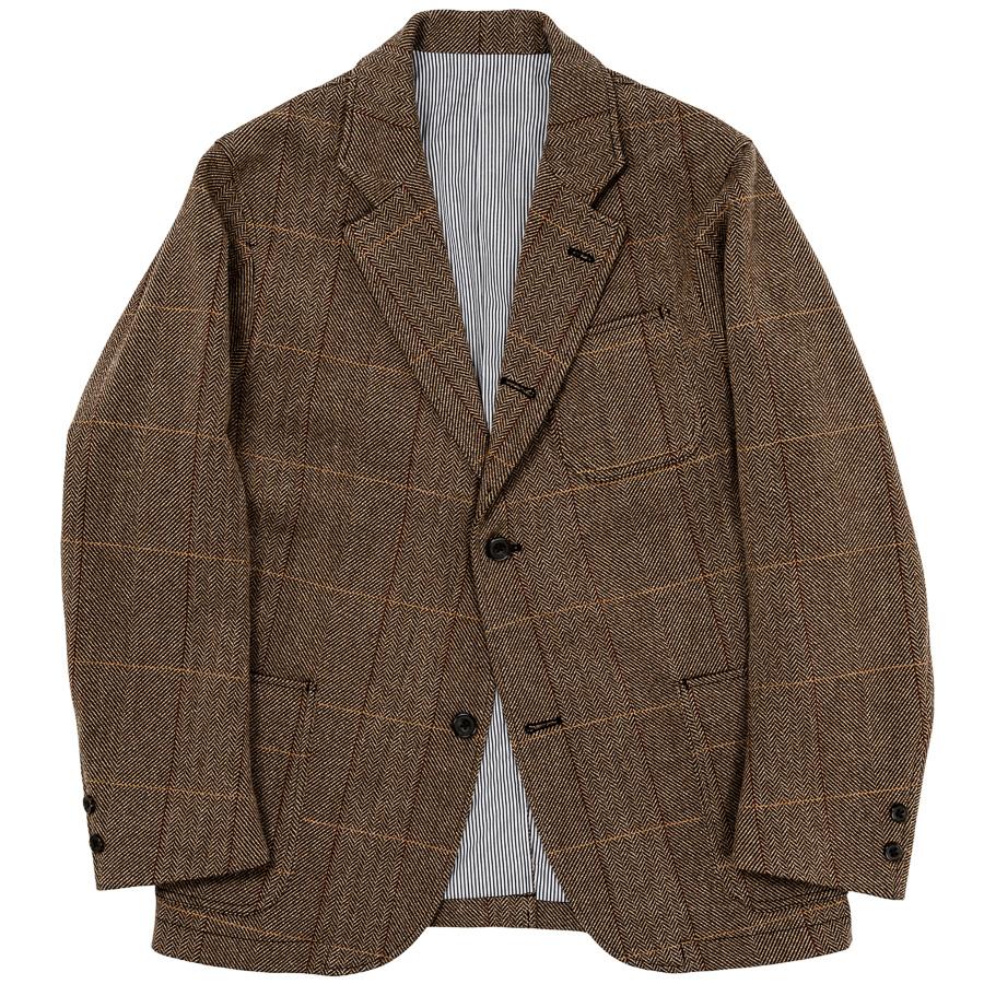 WORKERS (ワーカーズ) Maple Leaf Jacket / Windowpane Tweed