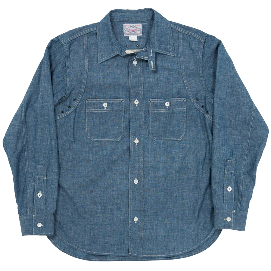 MFG Shirt Blue Chambray