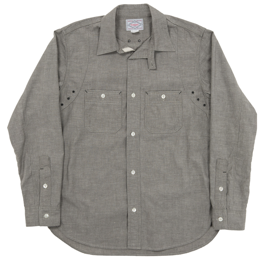 MFG Shirt Grey Chambray