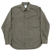 Basic Work Shirt Khaki Twill