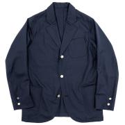 Blazer Wool Mohair Tropical Dark Navy