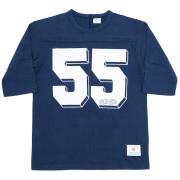 Football Tee 55 Navy