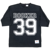 Football-Tee Booker 39 Black