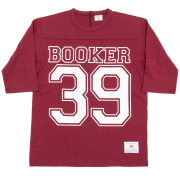 Football-Tee Booker 39 Burgundy