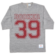 Football-Tee Booker 39 Grey