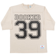 Football-Tee Booker 39 Oatmeal