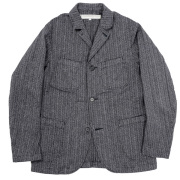 Lounge JKT Herringbone Stripe