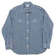 Lt. Work Shirt Blue Gingham