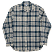 Lt. Work Shirt Blue Madras
