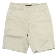 Officer Shorts Off White Chino