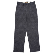 Officer Trousers Vintage Fit Type-1 Stripe Herringbone