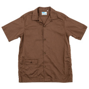 Open Collar Shirt CL Brown