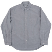 Pinhole Shirt Black Grey