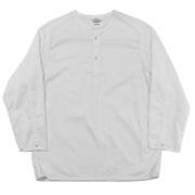 Sleeping Shirt White Twill