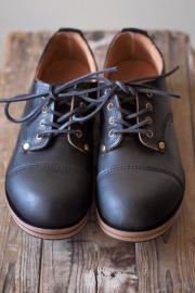 William Lennon Hill Shoes Cap Toe Black-1