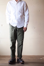 WORKERS Baker Pants Slim OD 2017/8-1