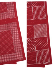 WORKERS Bandana Stole Red Dot / Stifel