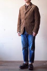WORKERS Lounge JKT 太畝 Heavy Corduroy Brown-1