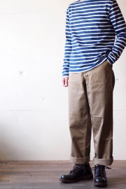 Workers Officer Trousers Vintage Fit Type2 USMC Khaki-1