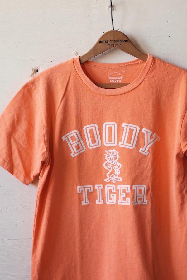 MIXTA(ミクスタ)Printed Tee Boody Tiger Sunrise-1