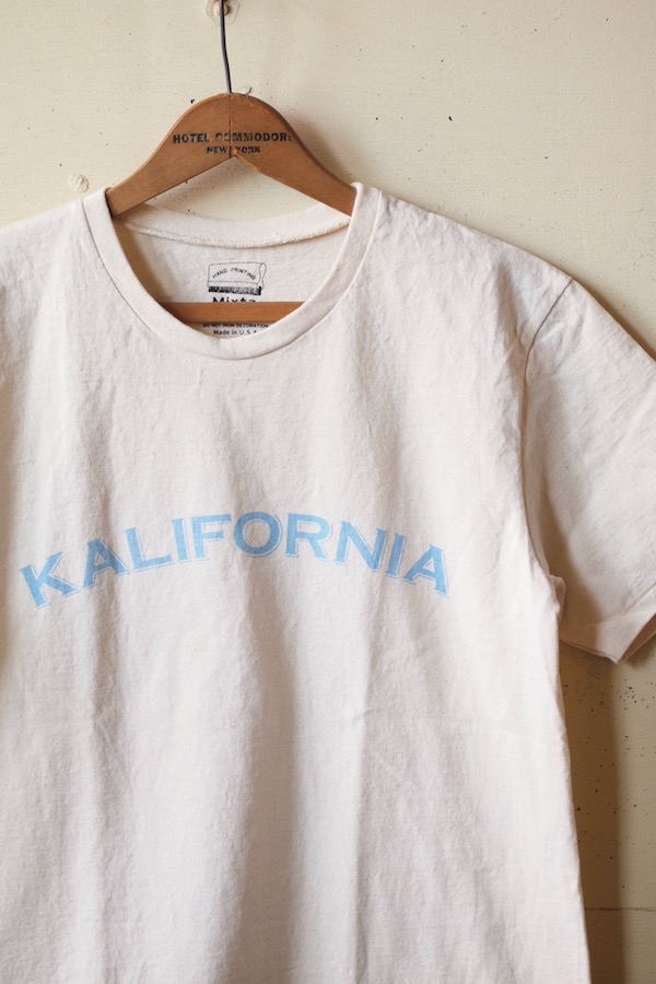 MIXTA Printed Tee CALIFORNIA Natural-1