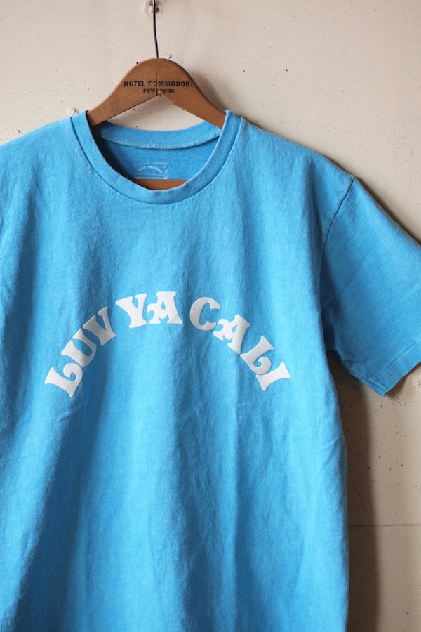 Mixta Printed Tee LAV YA CALI Pacific Blue-1