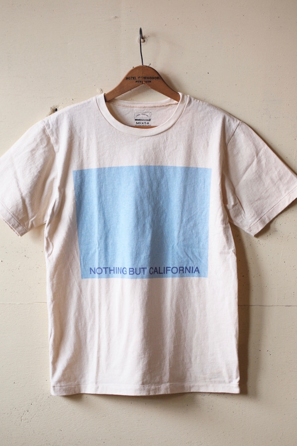 MIXTA(ミクスタ)Printed Tee NBC Natural-1