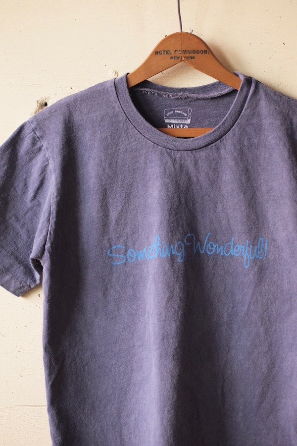 Mixta Printed Tee Something Wonderful Night Ocean-1