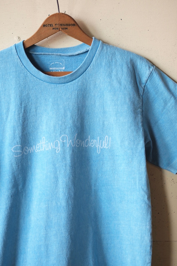 Mixta Printed Tee Something Wonderful Pacific Blue-1