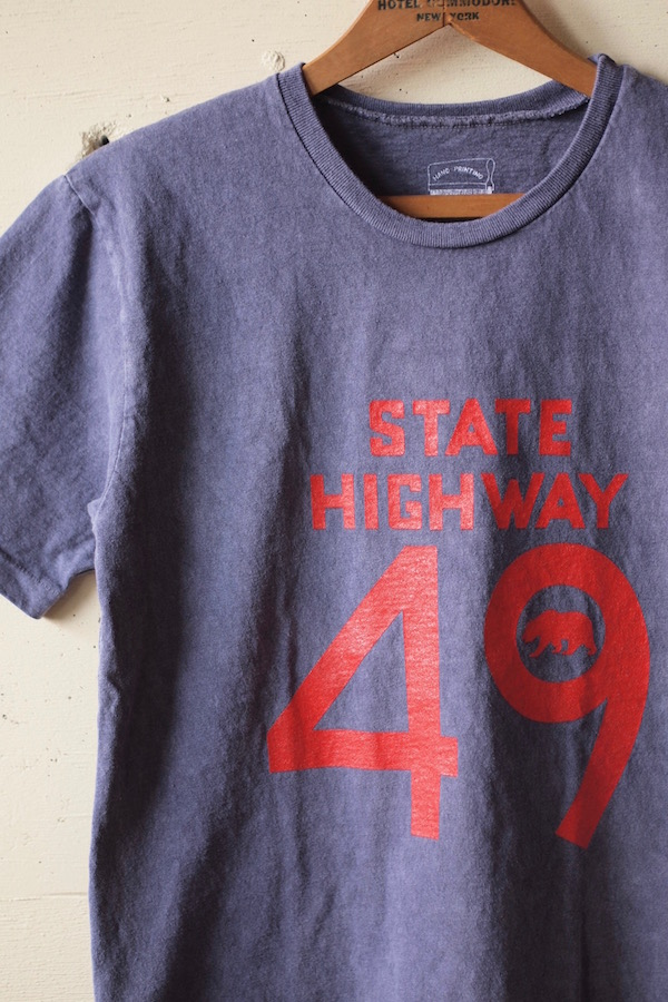 Mixta Printed Tee State Highway 49 Night Ocean-1