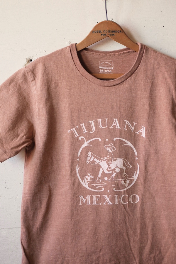Mixta Printed Tee TIJUANA20 Camel-1