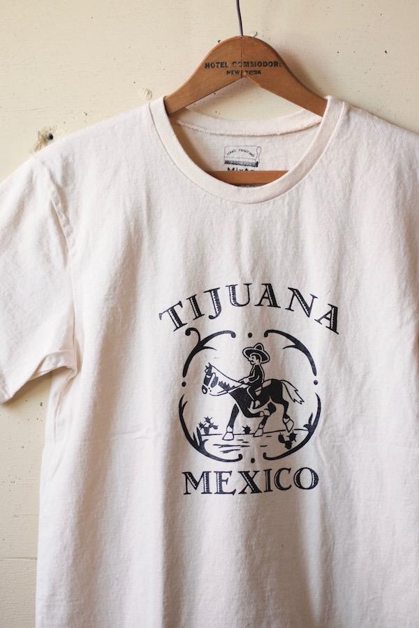 Mixta Printed Tee TIJUANA20 Natural-1