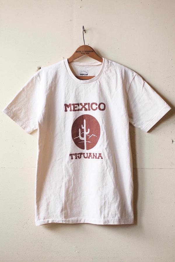 Mixta Printed Tee Tijuana 21 Natural-1