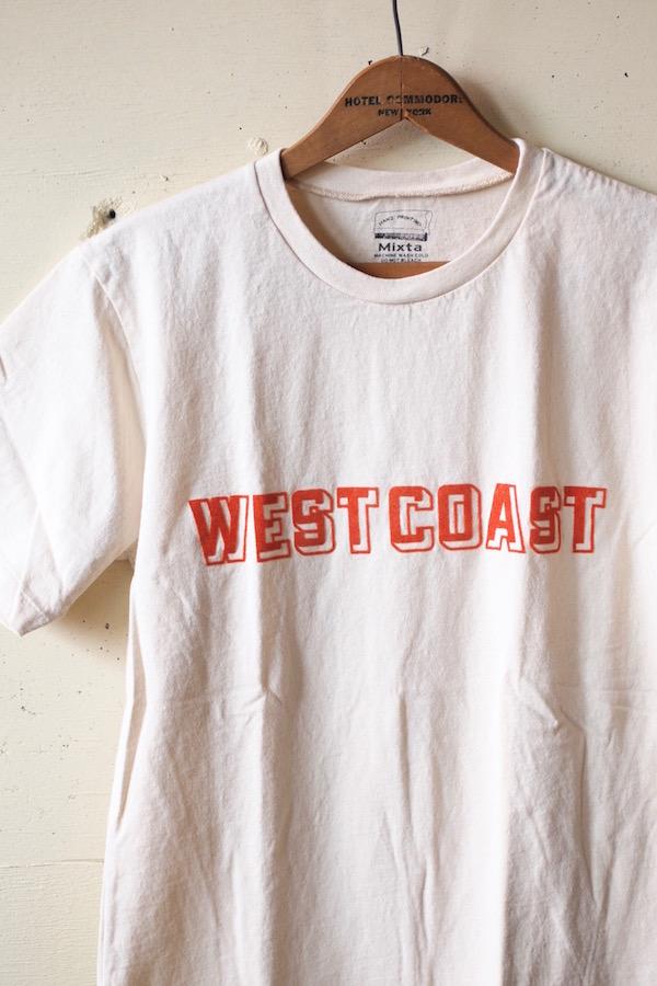 MIXTA(ミクスタ)Printed Tee West Coast Natural-1