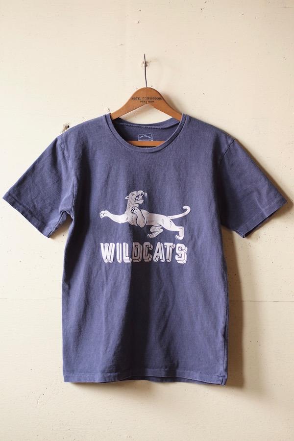 Mixta Printed Tee WILD CATS Night Ocean-1