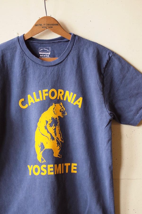 Mixta Printed Tee Yosemite Bear Night Ocean-1