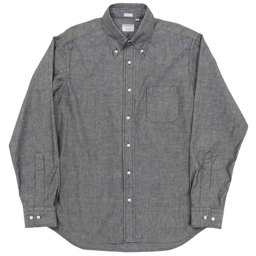Modified BD Shirt Black Chambray