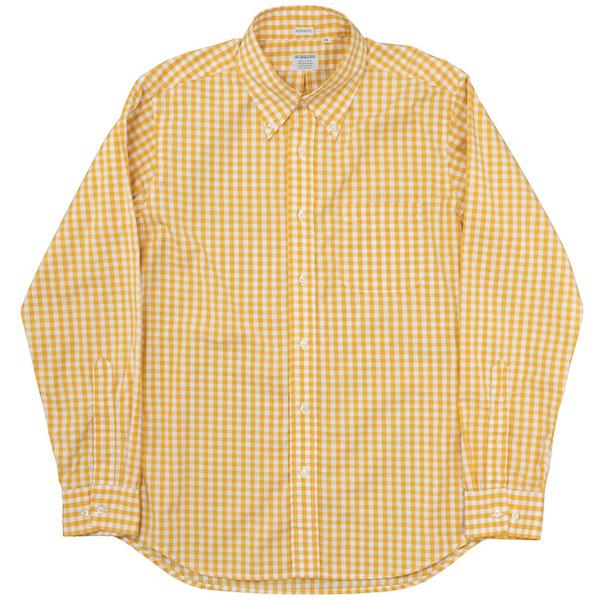 Modified BD Orange Check Broadcloth