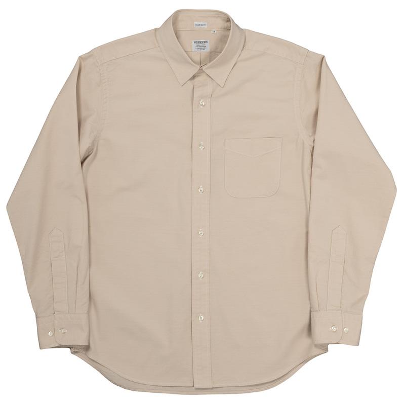 Modified Regular Collar Shirt Ecru OX